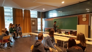Tandem-nap a Lycée Francais-val