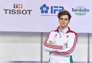 Nagy Dávid (3A) steht oben auf der Rangliste der Erwachsenen - Fechten