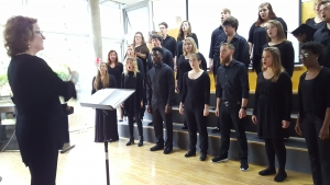 Charleston Southern University Concert Singers in der ÖSB.
