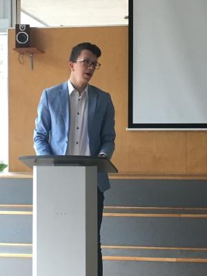 Schulausscheidung zum österreichischen Redewettbewerb