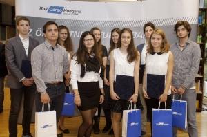Rail Cargo Hungaria Stipendienverleihung