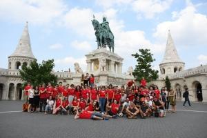 Flashmob in Budapest ... und in ganz Europa